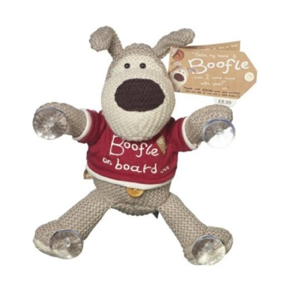 Boofle Boofle On Board Toy Stick Suction Pads To Window