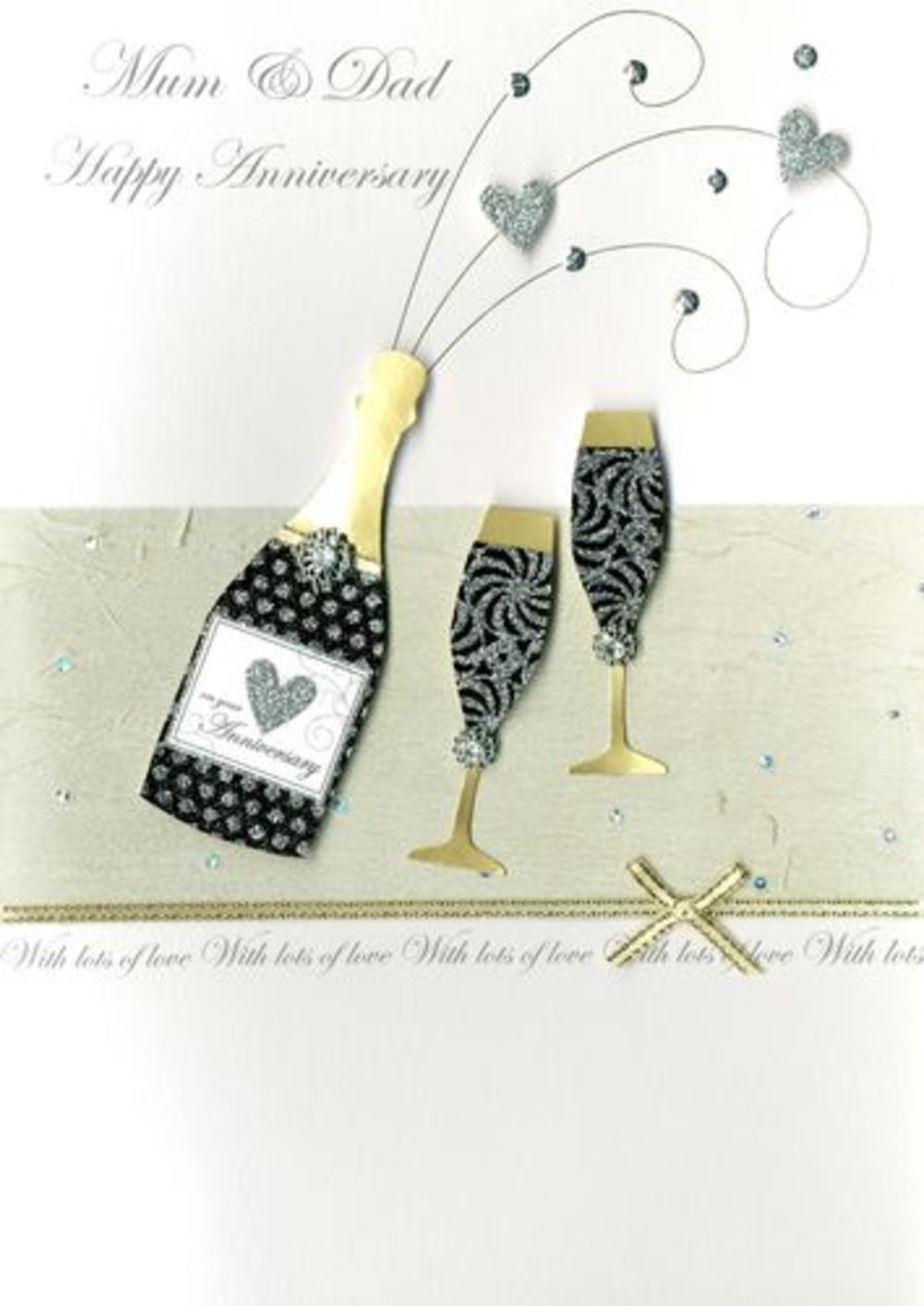 Large Second Nature Luxury 65th Birthday Greeting Card – Mum 65th Birthday Card