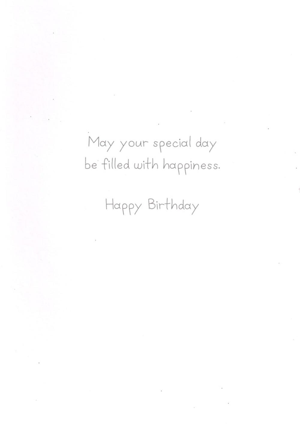 70th Birthday Handcrafted Special Greeting Card