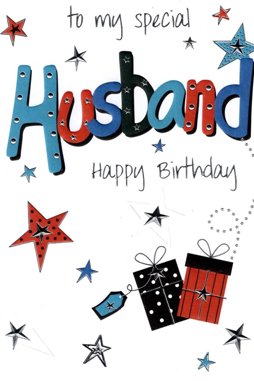 Husband Lovely Birthday Card