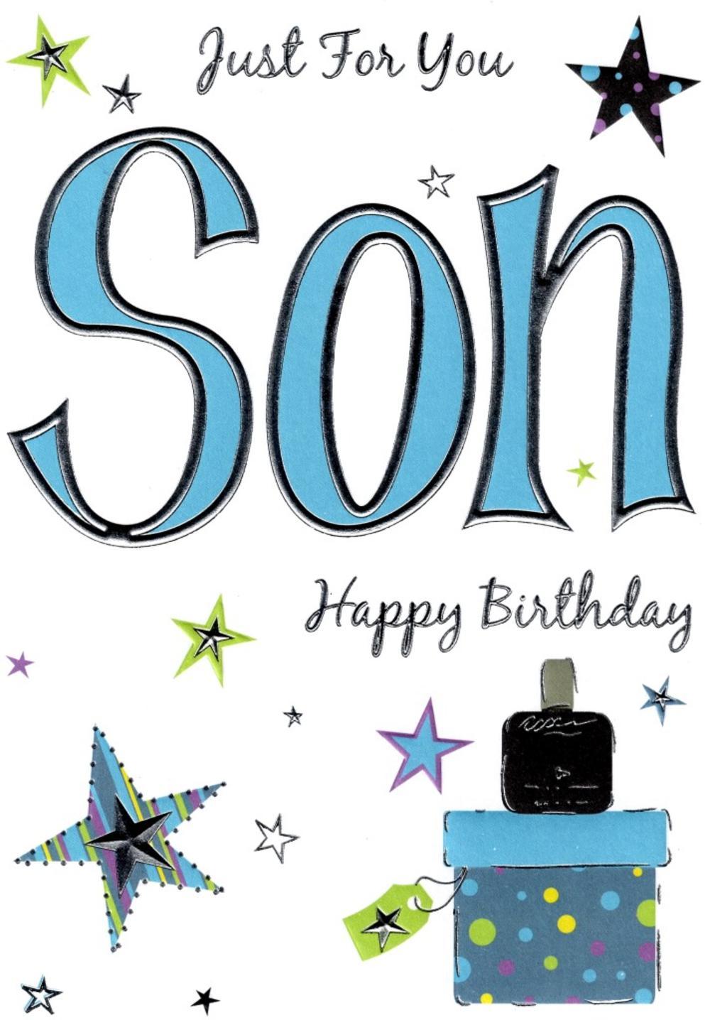 Son Lovely Birthday Card