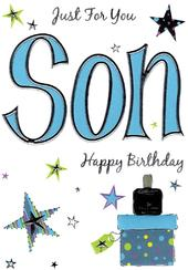 Son Lovely Birthday Card