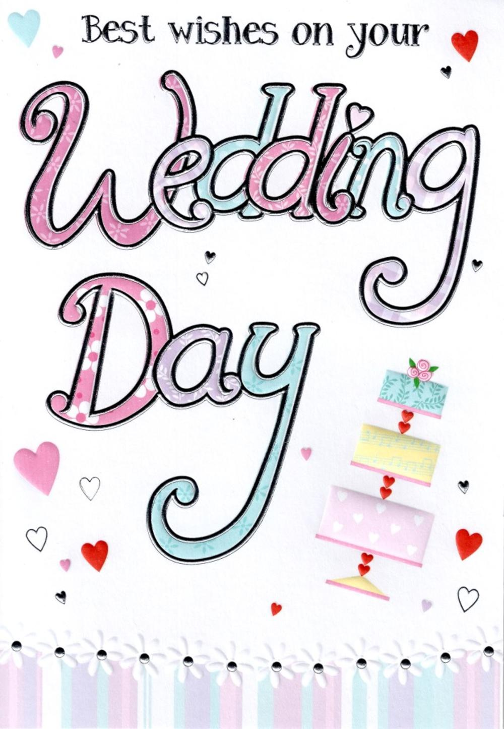 Wedding Day Lovely Greeting Card
