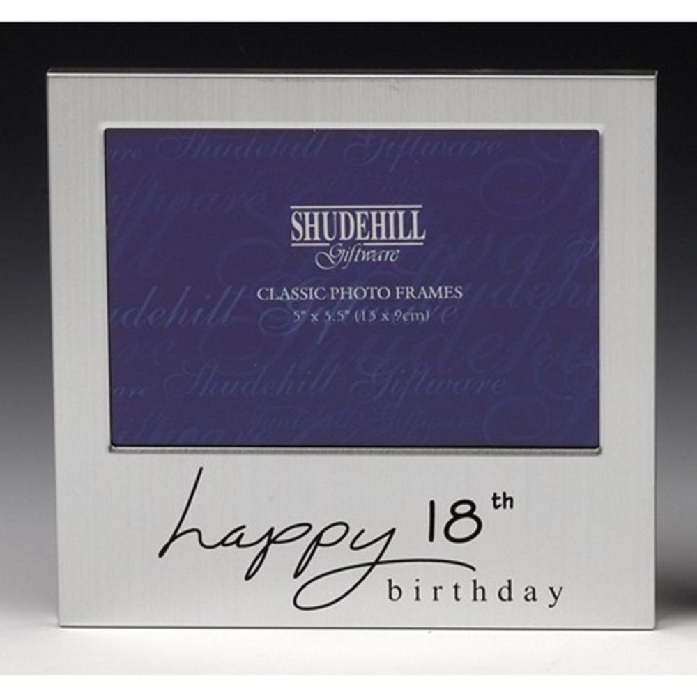 "Happy 18th Birthday 5"" x 3.5"" Photo Frame By Shudehill"
