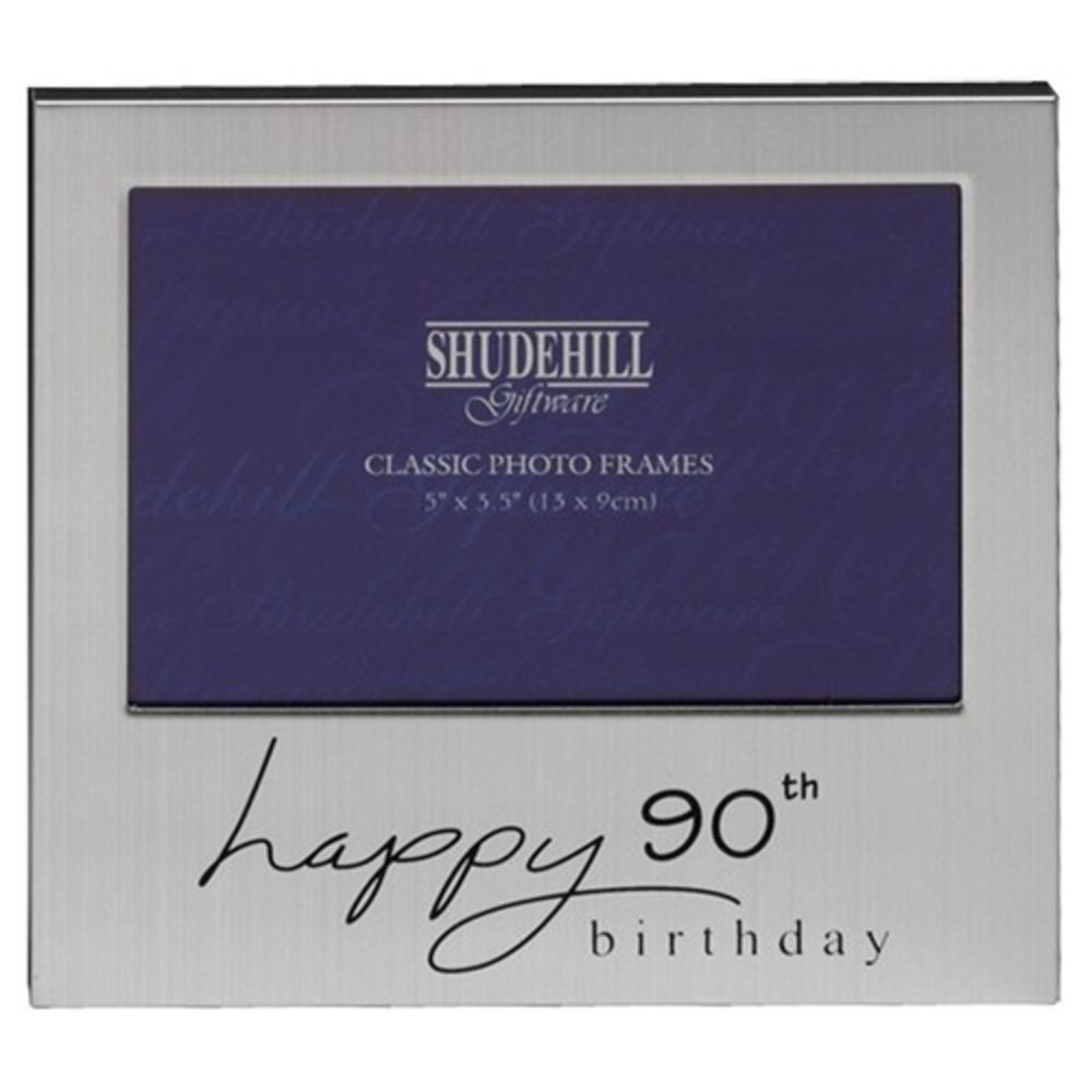 "Happy 90th Birthday 5"" x 3.5"" Photo Frame By Shudehill"