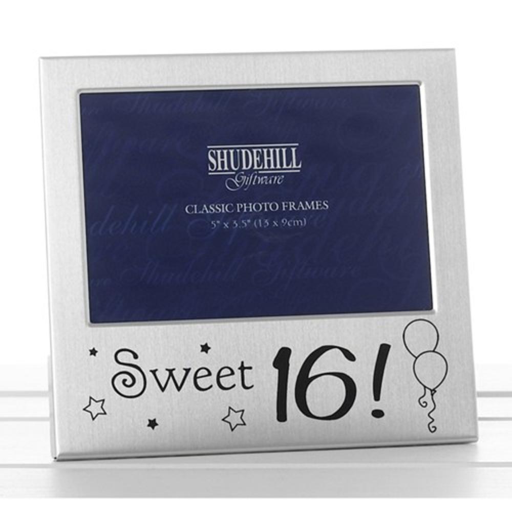 "Sweet 16 16th Birthday 5"" x 3.5"" Photo Frame By Shudehill"