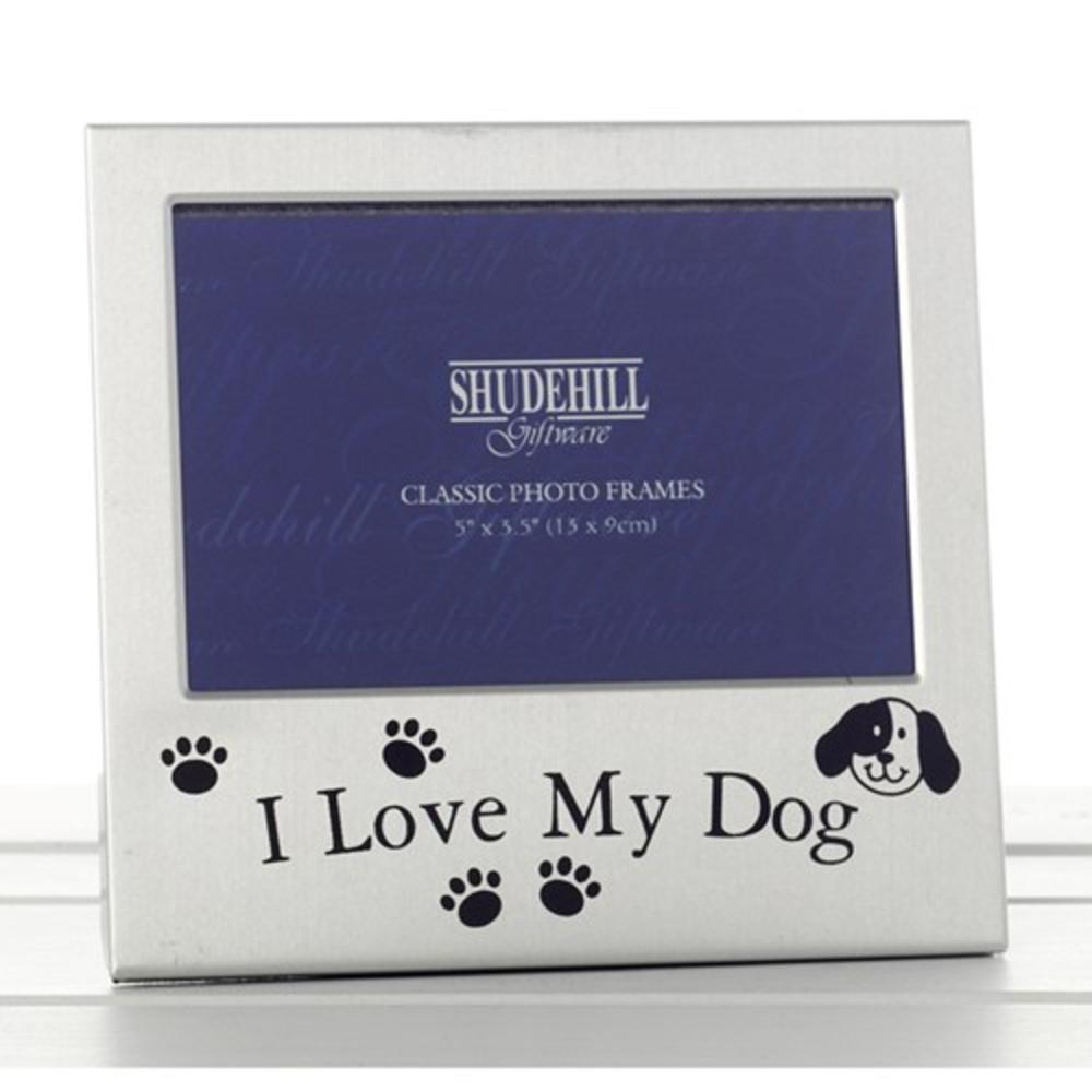 "I Love My Dog 5"" x 3.5"" Photo Frame By Shudehill"