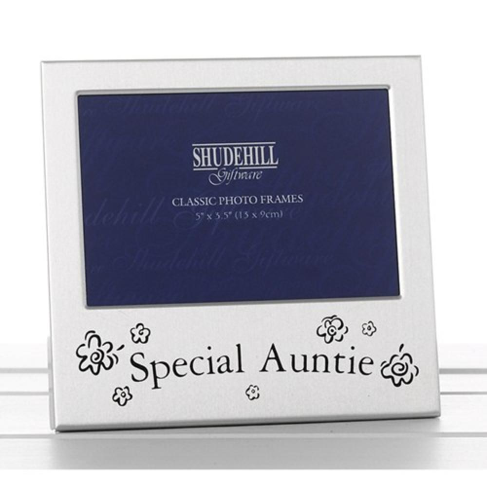 """Special Auntie 5"""" x 3.5"""" Photo Frame By Shudehill"""