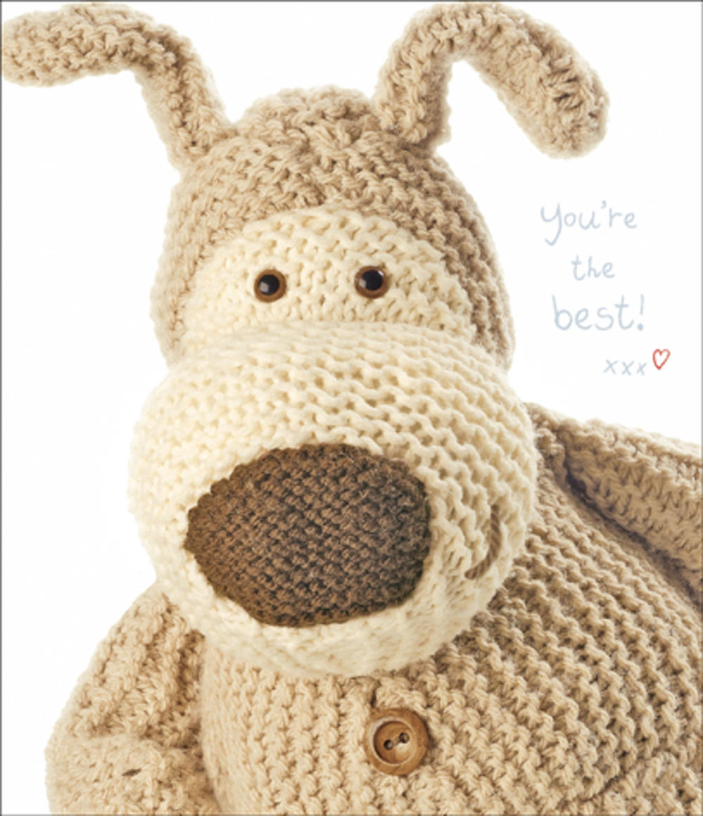 Boofle You're The Best Birthday Card