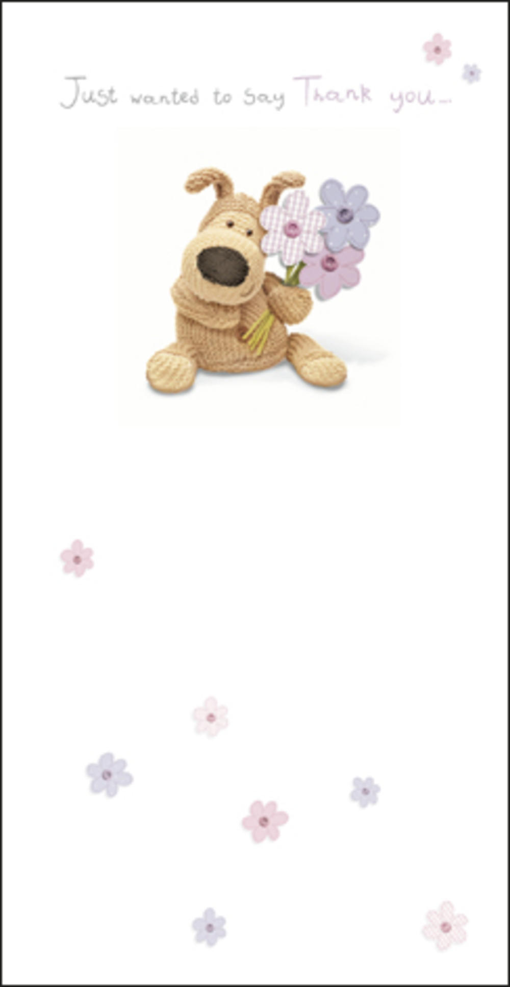 Boofle Thank You Greeting Card