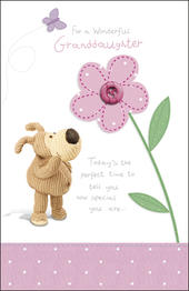 Boofle Granddaughter Birthday Card