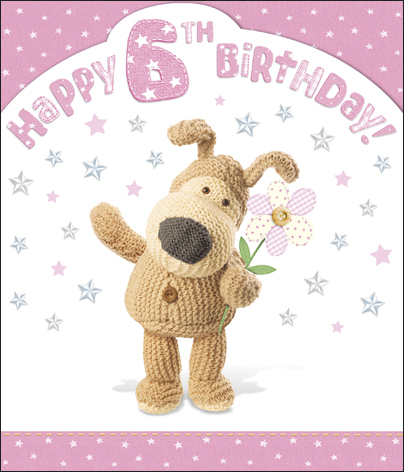 Boofle 6th happy birthday card girl cards love kates boofle 6th happy birthday card girl bookmarktalkfo Gallery