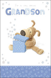 Boofle Grandson Birthday Card