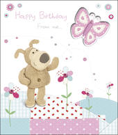 Boofle Fold Out Card Happy Birthday From Me