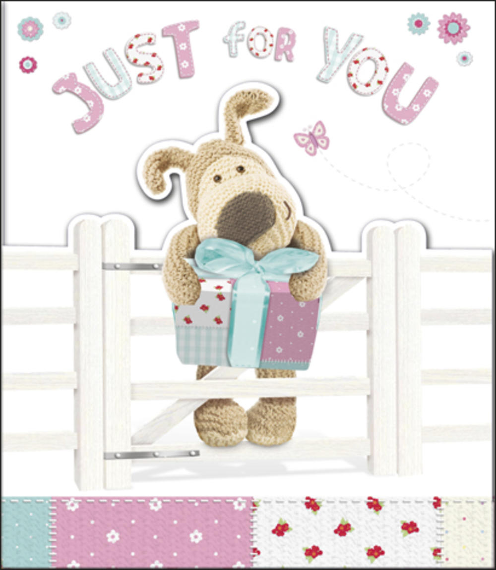 Boofle Just For You Birthday Card