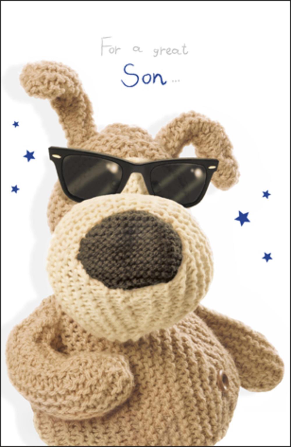 Boofle Great Son Birthday Card