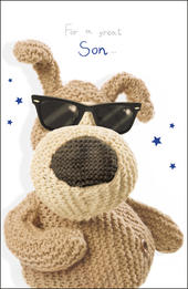Boofle Great Son Birthday Card