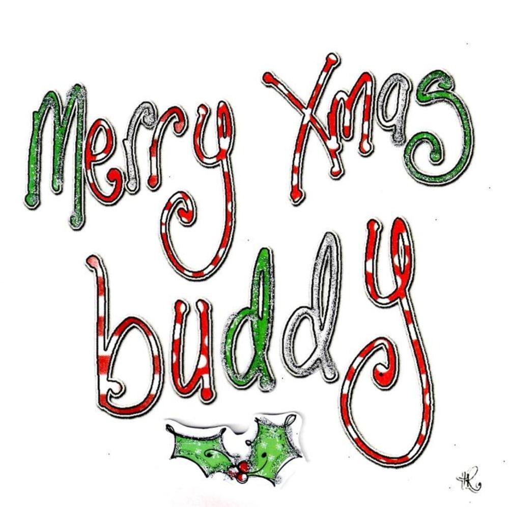Buddy christmas card - Christmas card 2018