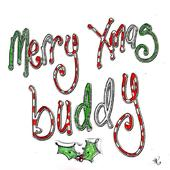 Merry Christmas Buddy Christmas Card Luxury Tracey Russell Cards