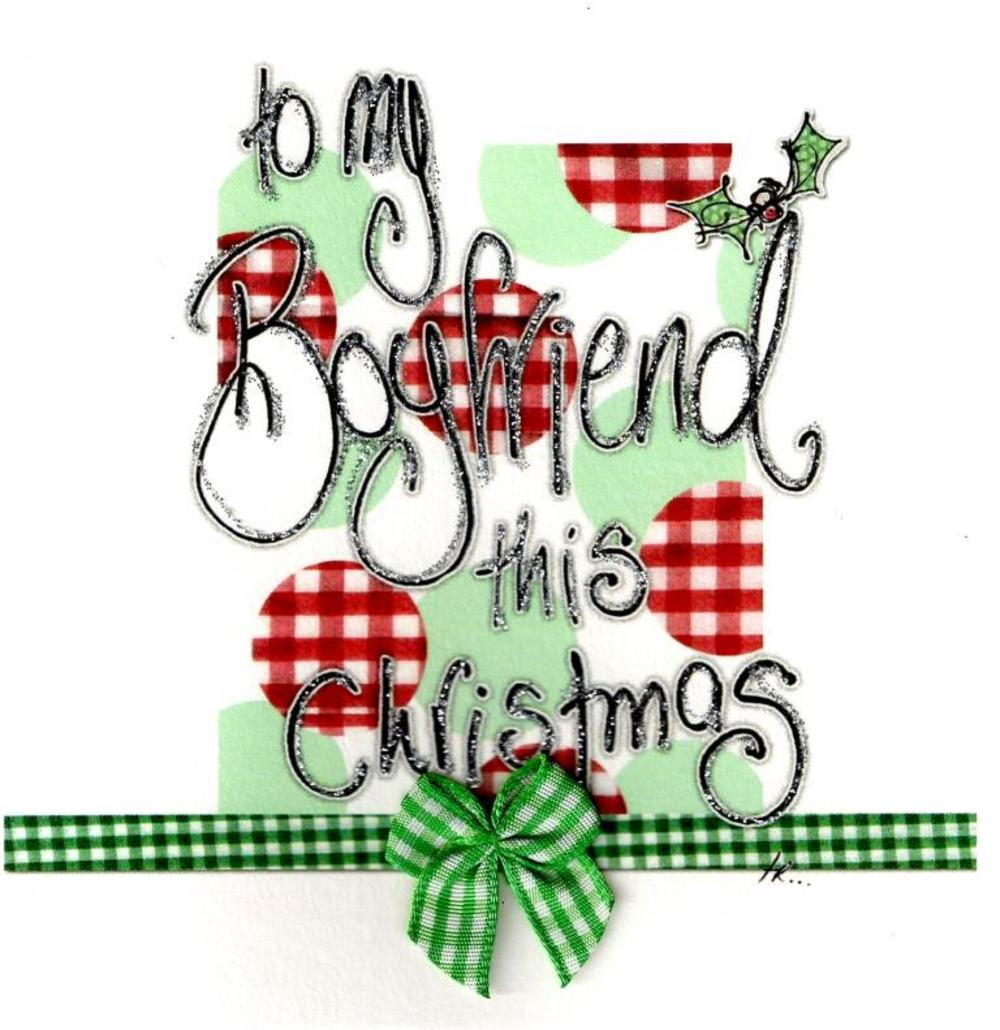 To My Boyfriend This Christmas Card Luxury Tracey Russell Cards