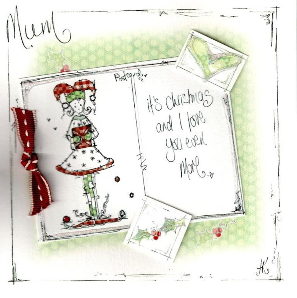 Mum Christmas Card Luxury Tracey Russell  Card