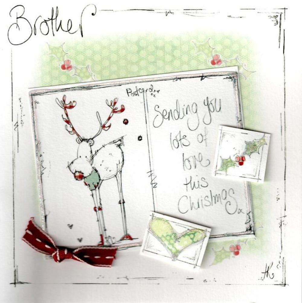 Brother Christmas Card Luxury Tracey Russell Cards