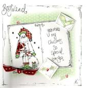 Boyfriend Christmas Card Luxury Tracey Russell Cards