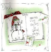 Dad Christmas Card Luxury Tracey Russell Cards