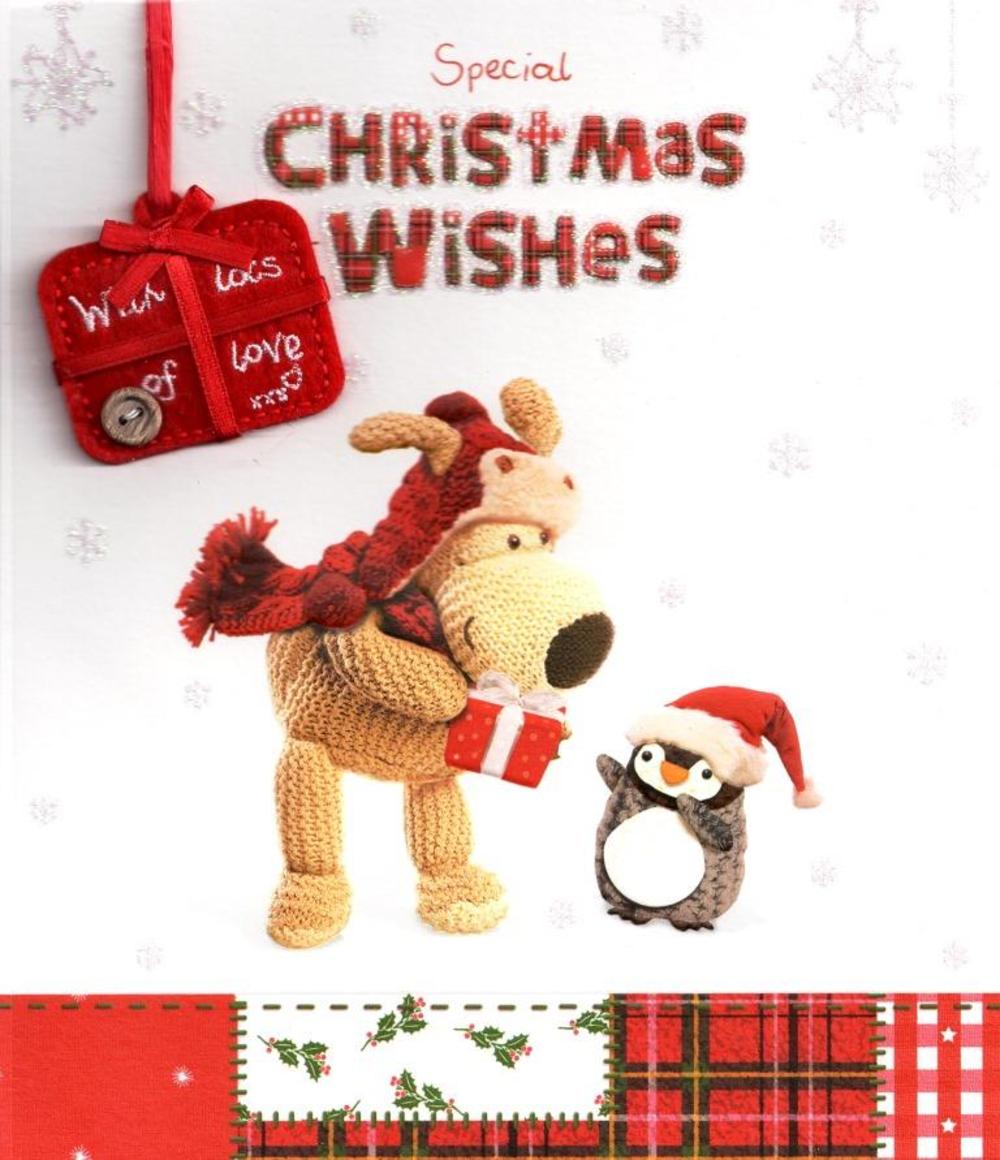 Boofle Christmas Wishes Card