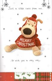 Boofle Pop-Up Special Christmas Card