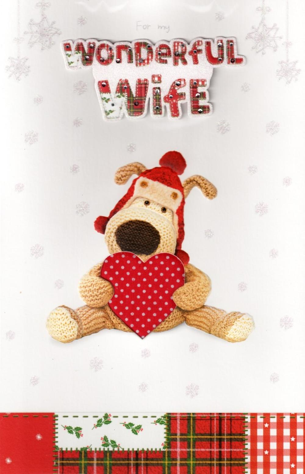 Boofle luxury christmas card wife cards love kates boofle luxury christmas card wife kristyandbryce Choice Image