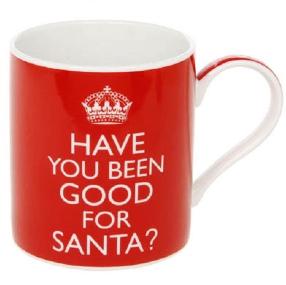 Have You Beed Good for Santa Fine China Mug in Gift Box