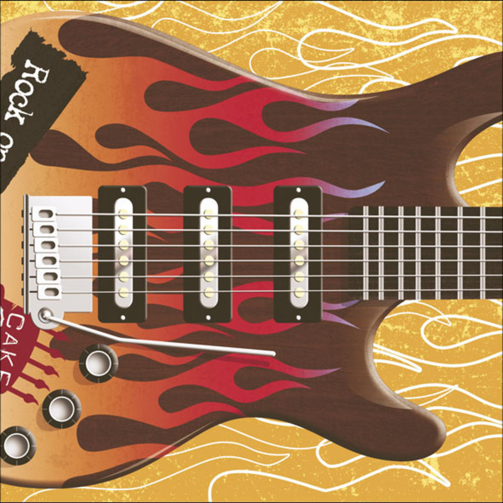 Pull Out Rock Guitar Sound Birthday Card Cards Love Kates