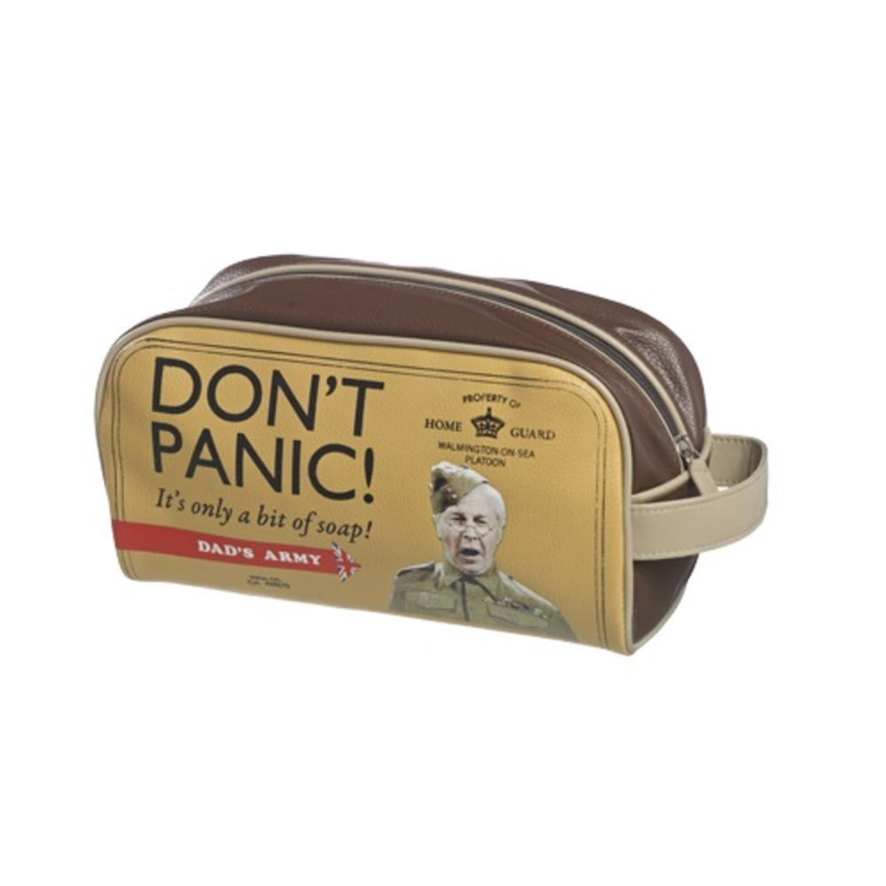 Dad's Army  Don't Panic Wash Bag