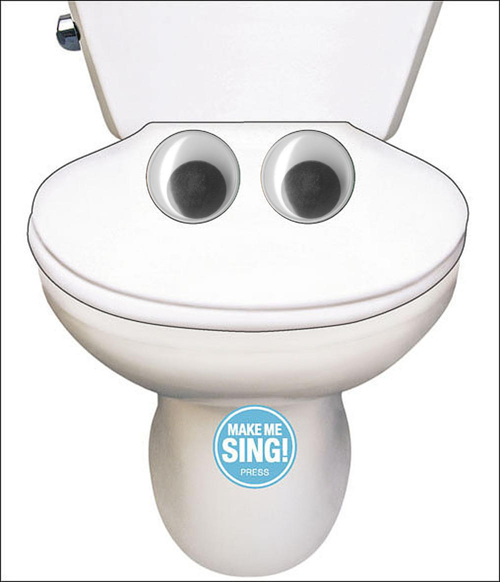 Funny Singing Toilet Song Sound Birthday Card