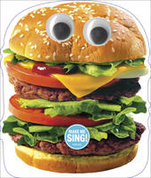 Funny Singing Hamburger Sound Birthday Card