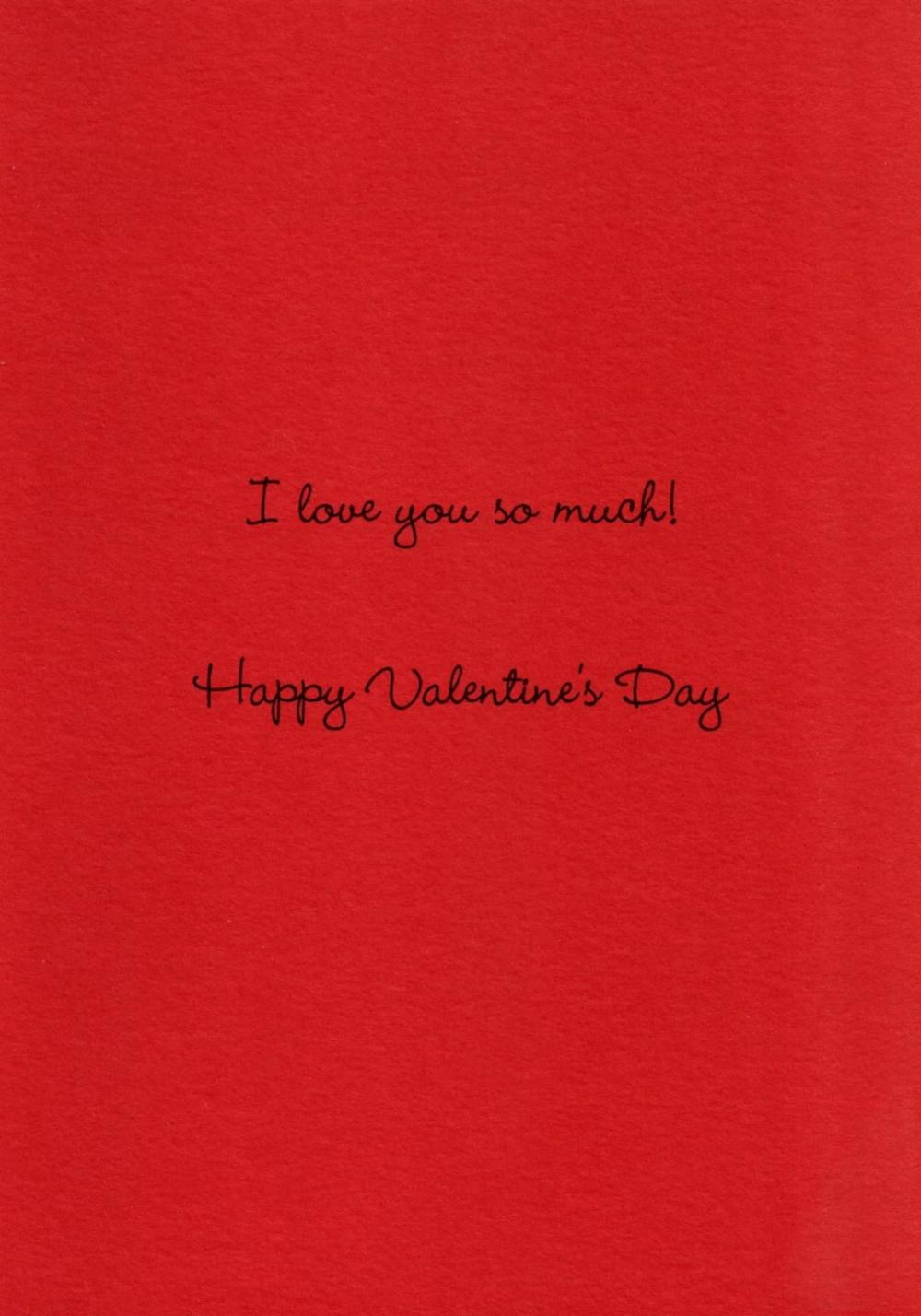 Wife I Love You So Much Valentines Card Cards Love Kates