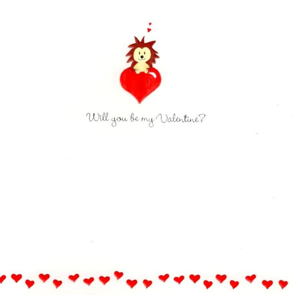 Will You Be My Valentine? Card Cute Valentine's Day Cards
