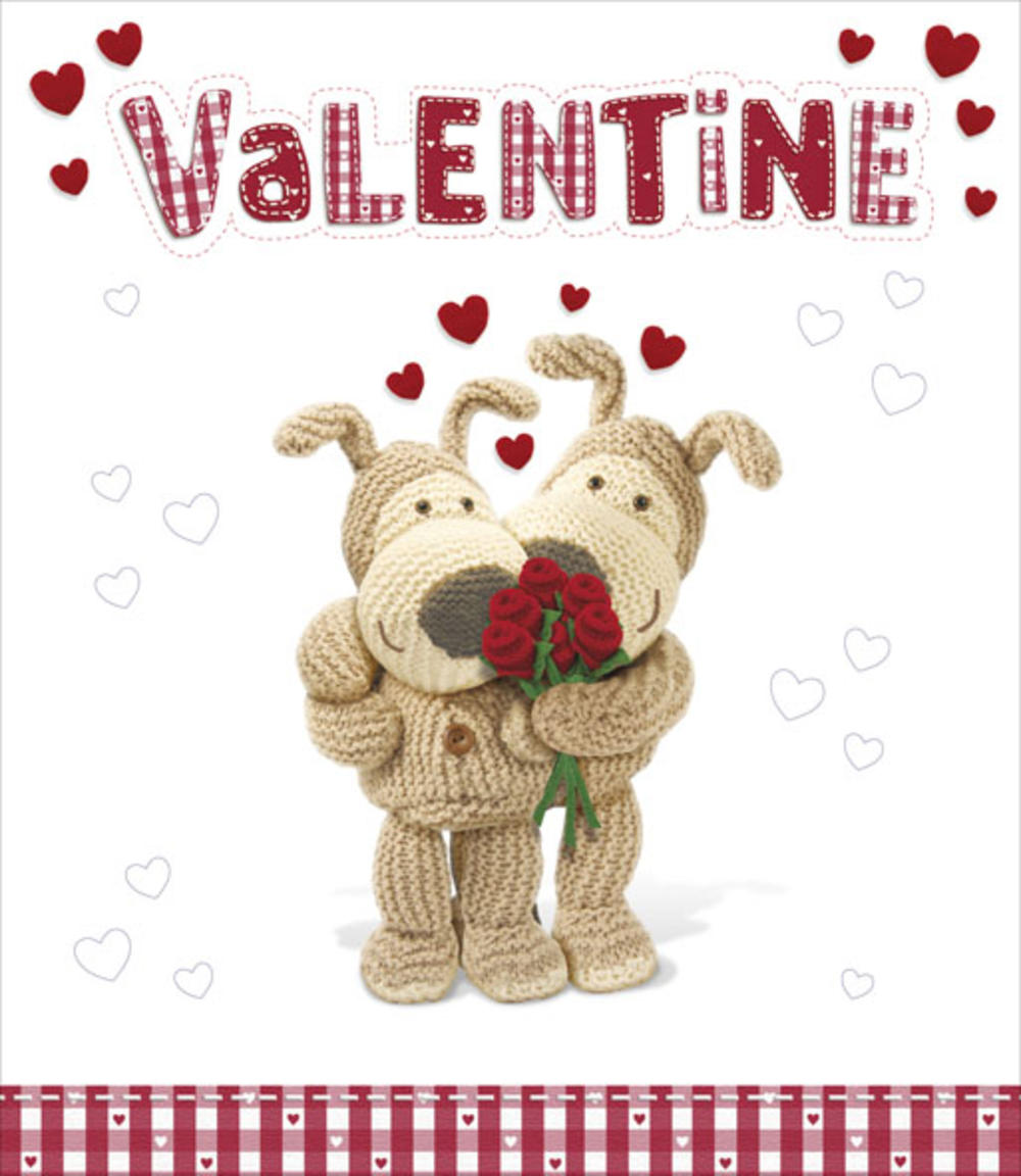 Boofle I Love You More Each Day Valentine's Day Card