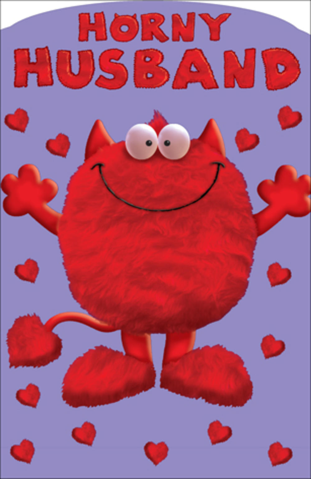 Horny Husband Love Monster Valentines Day Card Naughty Valentine Cards