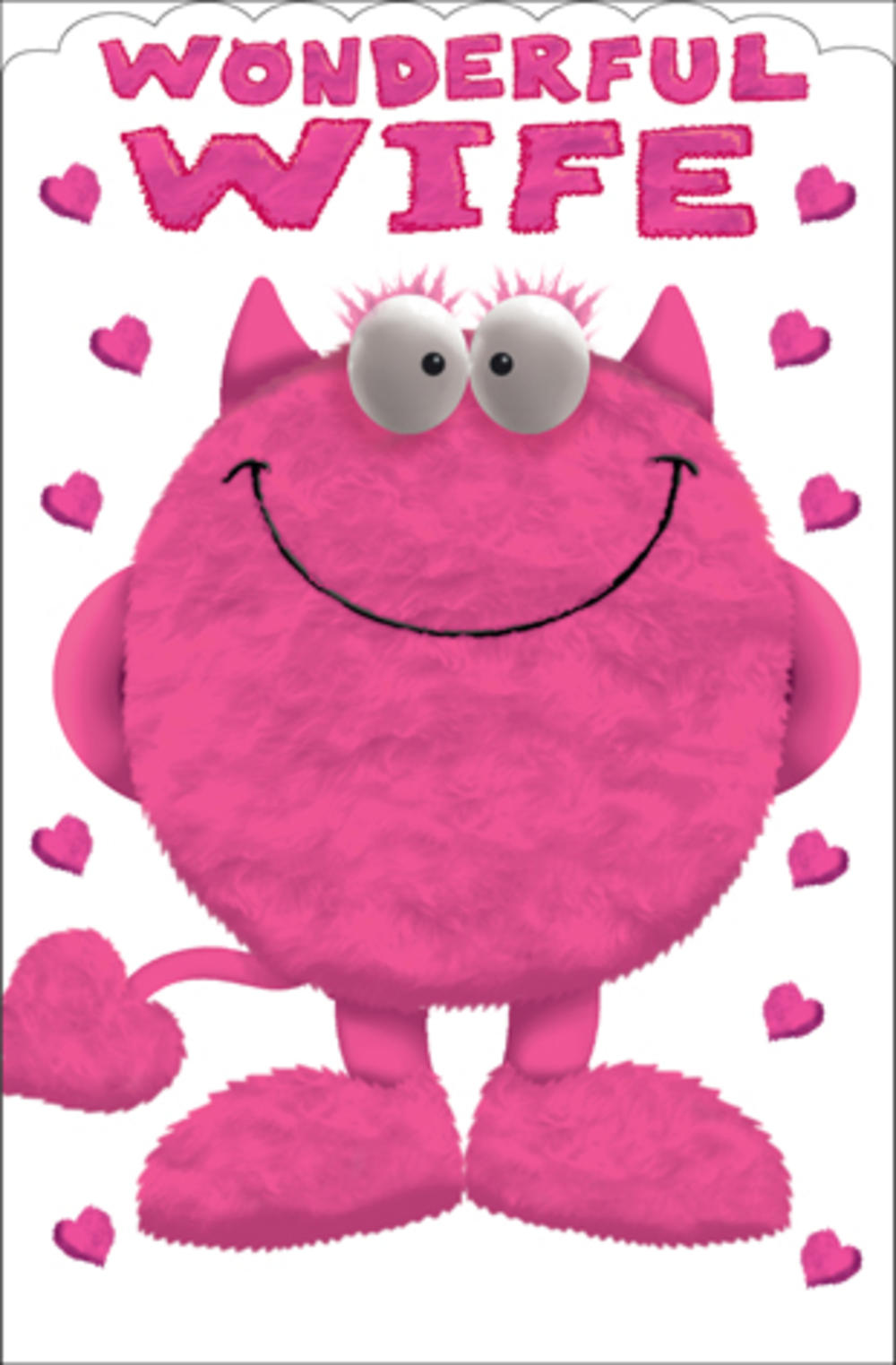 To My Wife Fun Sex Coupons Inside Valentines Day Card – Cookie Monster Valentine Cards