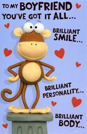 Boyfriend Funny Valentine's Day Card