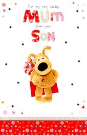 Boofle To Mum From Your Son Mother's Day Card