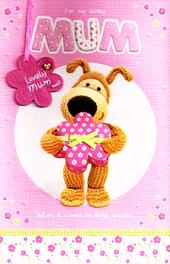 Boofle Large For My Lovely Mum Mother's Day Card