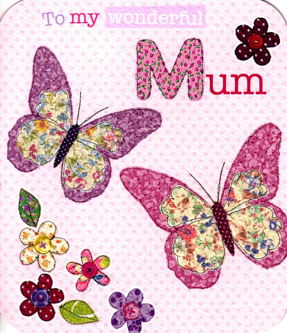 To My Wonderful Mum Happy Mother's Day