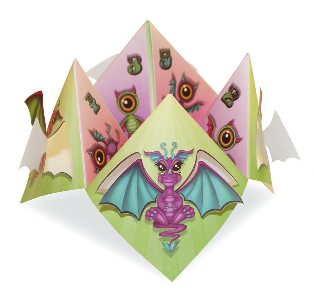 Dragon Chatterbox Greeting Card