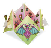 Dragon Chatterbox Greeting Card
