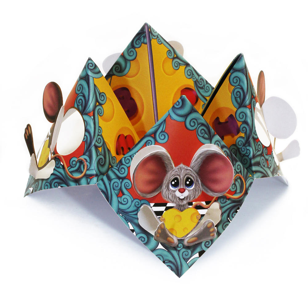 Mice Chatterbox Greeting Card