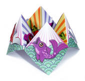 Fish Chatterbox Greeting Card