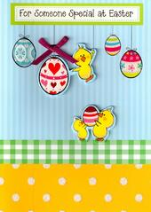 Someone Special At Easter Cute Chicks Easter Card